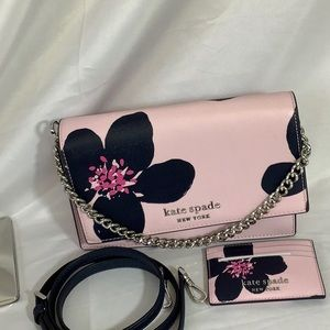 NWT Kate Spade crossbody & slim card holder